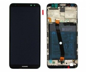 LCD DISPLAY HUAWEI MATE 10 LITE RNE-L21 RNE-L01 FRAME TOUCH ORIGINALE + BATTERIA